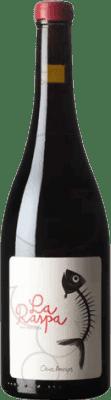 13,95 € Free Shipping | Red wine Oriol Artigas La Raspa Joven Catalonia Spain Merlot, Grenache, Monastrell, Sumoll Bottle 75 cl