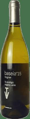 21,95 € Free Shipping | White wine Vins de Taller Baseia Joven Catalonia Spain Viognier Bottle 75 cl