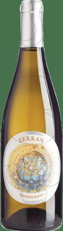12,95 € Envío gratis | Vino blanco Ordóñez Zerran Blanc Joven D.O. Montsant Cataluña España Garnacha Blanca Botella 75 cl