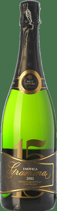 137,95 € 免费送货 | 白起泡酒 Gramona Enoteca Brut Nature Gran Reserva 2002 D.O. Cava 加泰罗尼亚 西班牙 Macabeo, Xarel·lo 瓶子 75 cl