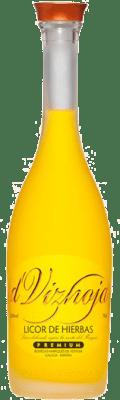 9,95 € Kostenloser Versand | Kräuterlikör Marqués de Vizhoja Spanien Flasche 70 cl