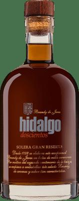 33,95 € Envío gratis | Brandy La Gitana Hidalgo 200 Solera Gran Reserva España Botella 70 cl