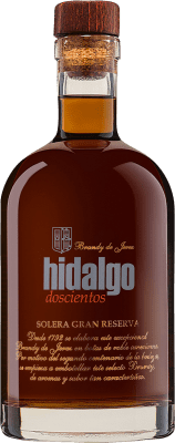 33,95 € Free Shipping | Brandy La Gitana Hidalgo 200 Solera Gran Reserva Spain Bottle 70 cl