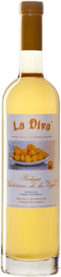 27,95 € Free Shipping | Fortified wine Gutiérrez de la Vega Casta Diva La Diva D.O. Alicante Levante Spain Muscatel Half Bottle 50 cl