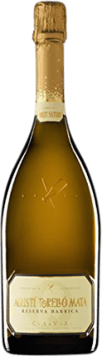 19,95 € Free Shipping | White sparkling Agustí Torelló Barrica Brut Nature Reserva D.O. Cava Catalonia Spain Macabeo Bottle 75 cl | Thousands of wine lovers trust us to get the best price guarantee, free shipping always and hassle-free shopping and returns.