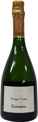 9,95 € Free Shipping | White sparkling Codorníu Blanc de Blancs Prima Vides Brut Reserva D.O. Cava Catalonia Spain Bottle 75 cl | Thousands of wine lovers trust us to get the best price guarantee, free shipping always and hassle-free shopping and returns.