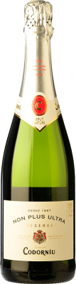 11,95 € Free Shipping   White sparkling Codorníu Non Plus Ultra Brut Nature Reserva D.O. Cava Catalonia Spain Macabeo, Xarel·lo, Chardonnay, Parellada Bottle 75 cl   Thousands of wine lovers trust us to get the best price guarantee, free shipping always and hassle-free shopping and returns.
