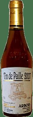49,95 € Free Shipping | Fortified wine Tissot Arbois Vin de Paille Otras A.O.C. Francia France Chardonnay, Savagnin, Poulsard Half Bottle 37 cl