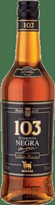 13,95 € Envío gratis | Brandy Osborne 103 Etiqueta negra España Botella 70 cl