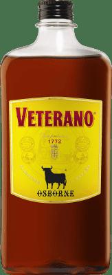 12,95 € Free Shipping   Spirits Osborne Veterano Spain Petaca 1 L