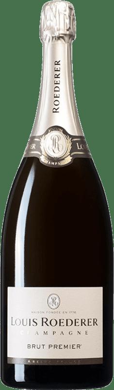 103,95 € Envoi gratuit | Blanc moussant Louis Roederer Brut Gran Reserva A.O.C. Champagne France Pinot Noir, Chardonnay, Pinot Meunier Bouteille Magnum 1,5 L
