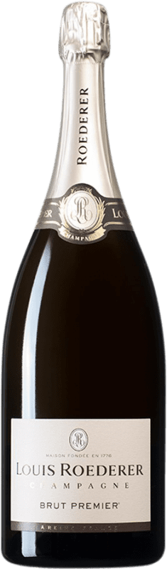 103,95 € Free Shipping | White sparkling Louis Roederer Brut Gran Reserva A.O.C. Champagne France Pinot Black, Chardonnay, Pinot Meunier Magnum Bottle 1,5 L