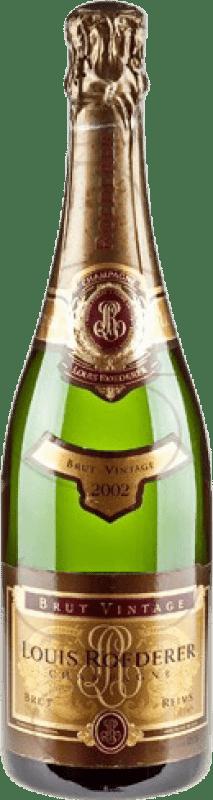 79,95 € Envoi gratuit | Blanc moussant Louis Roederer Vintage Brut Gran Reserva 2008 A.O.C. Champagne France Pinot Noir, Chardonnay Bouteille 75 cl