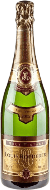 79,95 € Free Shipping | White sparkling Louis Roederer Vintage Brut Gran Reserva A.O.C. Champagne France Pinot Black, Chardonnay Bottle 75 cl