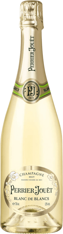 69,95 € Free Shipping | White sparkling Perrier-Jouët Blanc de Blancs Brut Gran Reserva A.O.C. Champagne France Chardonnay Bottle 75 cl