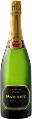 27,95 € Free Shipping | White sparkling Parxet Brut Nature Reserva 2011 D.O. Cava Catalonia Spain Macabeo, Parellada, Pansa Blanca Magnum Bottle 1,5 L | Thousands of wine lovers trust us to get the best price guarantee, free shipping always and hassle-free shopping and returns.