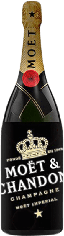97,95 € Free Shipping | White sparkling Moët & Chandon Luminous Edition Brut Gran Reserva A.O.C. Champagne France Pinot Black, Chardonnay, Pinot Meunier Magnum Bottle 1,5 L