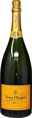 91,95 € Free Shipping   White sparkling Veuve Clicquot Carte Jeune Brut Gran Reserva A.O.C. Champagne France Pinot Black, Chardonnay, Pinot Meunier Magnum Bottle 1,5 L   Thousands of wine lovers trust us to get the best price guarantee, free shipping always and hassle-free shopping and returns.