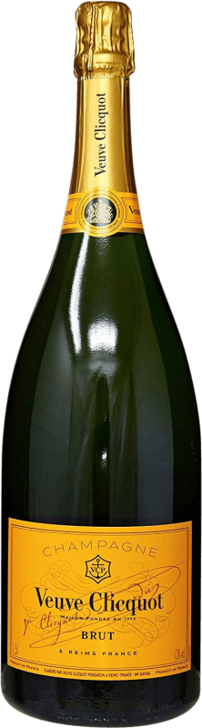 99,95 € Free Shipping | White sparkling Veuve Clicquot Carte Jeune Brut Gran Reserva A.O.C. Champagne France Pinot Black, Chardonnay, Pinot Meunier Magnum Bottle 1,5 L