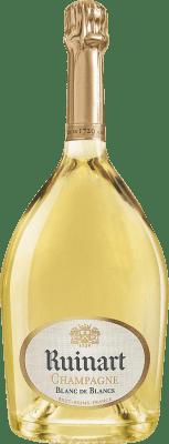 126,95 € 免费送货 | 白起泡酒 Ruinart Blanc de Blancs 香槟 Gran Reserva A.O.C. Champagne 法国 Chardonnay 瓶子 Magnum 1,5 L | 成千上万的葡萄酒爱好者信赖我们,保证最优惠的价格,免费送货,购买和退货,没有复杂性.