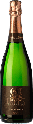 8,95 € Free Shipping | White sparkling Canals & Munné Insignia Brut Gran Reserva D.O. Cava Catalonia Spain Macabeo, Xarel·lo, Parellada Bottle 75 cl | Thousands of wine lovers trust us to get the best price guarantee, free shipping always and hassle-free shopping and returns.