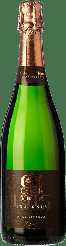 9,95 € Free Shipping | White sparkling Canals & Munné Insignia Brut Gran Reserva D.O. Cava Catalonia Spain Macabeo, Xarel·lo, Parellada Bottle 75 cl