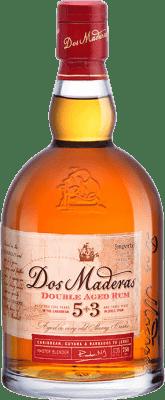 25,95 € Envío gratis | Ron Williams & Humbert Dos Maderas Añejo 5+3 España Botella 70 cl