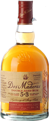 28,95 € Free Shipping | Rum Williams & Humbert Dos Maderas Añejo 5+3 Spain Bottle 70 cl