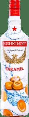 15,95 € Envoi gratuit | Liqueurs Antonio Nadal Rushkinoff Caramel Espagne Bouteille Missile 1 L