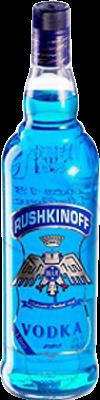 16,95 € Envoi gratuit | Vodka Antonio Nadal Rushkinoff Blue Espagne Bouteille Missile 1 L