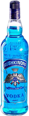 13,95 € Free Shipping | Vodka Antonio Nadal Rushkinoff Blue Spain Missile Bottle 1 L