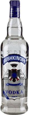 12,95 € Envoi gratuit | Vodka Antonio Nadal Rushkinoff Blue Label Espagne Bouteille Missile 1 L