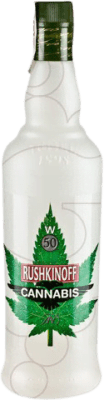 13,95 € Envoi gratuit | Vodka Antonio Nadal Rushkinoff Cannabis Espagne Bouteille Missile 1 L