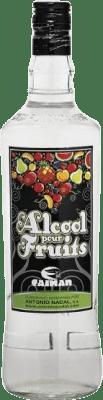 16,95 € Envoi gratuit | Marc Antonio Nadal Alcool pour Fruits Caiman 38º Aguardiente Espagne Bouteille Missile 1 L