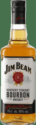 12,95 € Envío gratis | Bourbon Suntory Jim Beam Estados Unidos Botella 70 cl