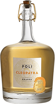 38,95 € Envío gratis | Grappa Poli Cleopatra Oro Italia Botella 70 cl