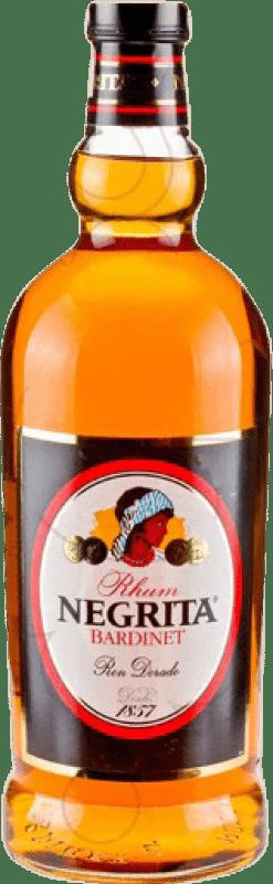 22,95 € Envío gratis | Ron Bardinet Negrita Añejo España Botella Especial 2 L