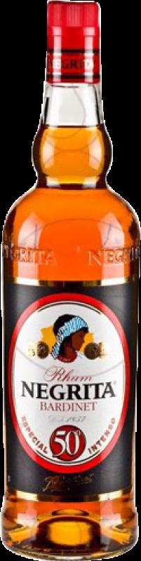 14,95 € Free Shipping | Rum Bardinet Negrita Dorado 50º Intenso Añejo Spain Missile Bottle 1 L