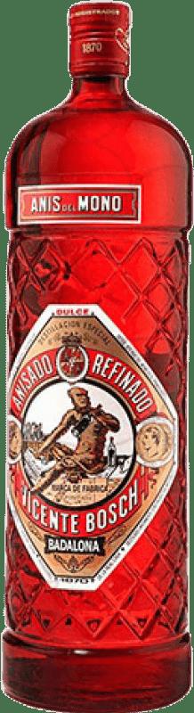 14,95 € Envoi gratuit | Anisé Anís del Mono Edición Botella Roja Doux Espagne Bouteille Magnum 1,5 L
