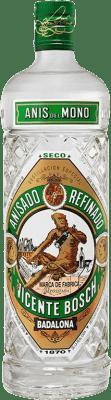 9,95 € Envío gratis | Anisado Anís del Mono Seco España Botella 70 cl