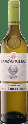 9,95 € Envoi gratuit | Vin blanc Ramón Bilbao Joven D.O. Rueda Castille et Leon Espagne Verdejo Bouteille 75 cl