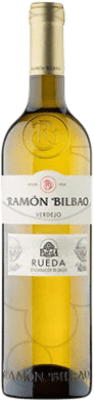 5,95 € Free Shipping | White wine Ramón Bilbao Joven D.O. Rueda Castilla y León Spain Verdejo Half Bottle 50 cl