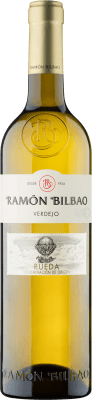 14,95 € Free Shipping | White wine Ramón Bilbao Joven D.O. Rueda Castilla y León Spain Verdejo Magnum Bottle 1,5 L