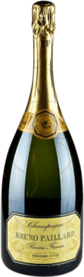 86,95 € Free Shipping   White sparkling Champagne Bruno Paillard Brut Gran Reserva A.O.C. Champagne France Pinot Black, Chardonnay, Pinot Meunier Magnum Bottle 1,5 L   Thousands of wine lovers trust us to get the best price guarantee, free shipping always and hassle-free shopping and returns.