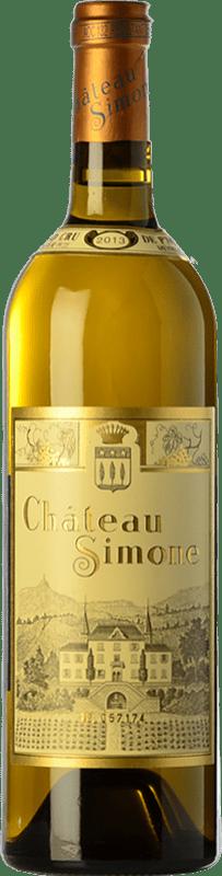 48,95 € Free Shipping | Rosé wine Château Simone Joven Otras A.O.C. Francia France Syrah, Grenache, Monastrell, Mazuelo, Carignan, Muscatel, Cinsault Bottle 75 cl