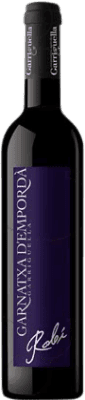 5,95 € Free Shipping | Fortified wine Garriguella Robi D.O. Empordà Catalonia Spain Grenache Half Bottle 50 cl