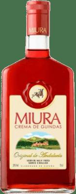 9,95 € Kostenloser Versand | Pacharán Miura Crema de Guindas Spanien Flasche 70 cl