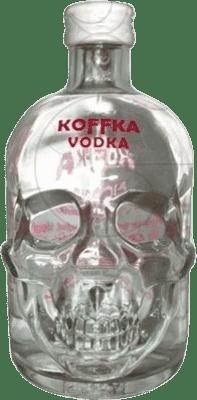 13,95 € Envío gratis | Vodka Campeny Koffka España Media Botella 50 cl