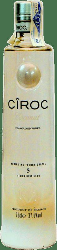 31,95 € Free Shipping | Vodka Cîroc Coconut France Bottle 75 cl