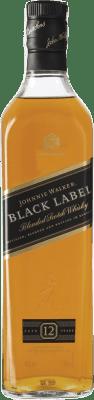 27,95 € Free Shipping | Whisky Blended Johnnie Walker Black Label Reserva United Kingdom Bottle 70 cl